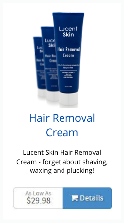 lucent skin hair removal cream
